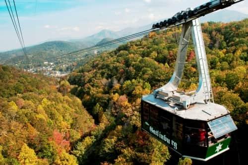 aerial tram ober gatlinburg